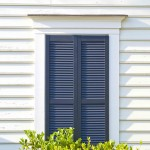Closed Louver Shutters