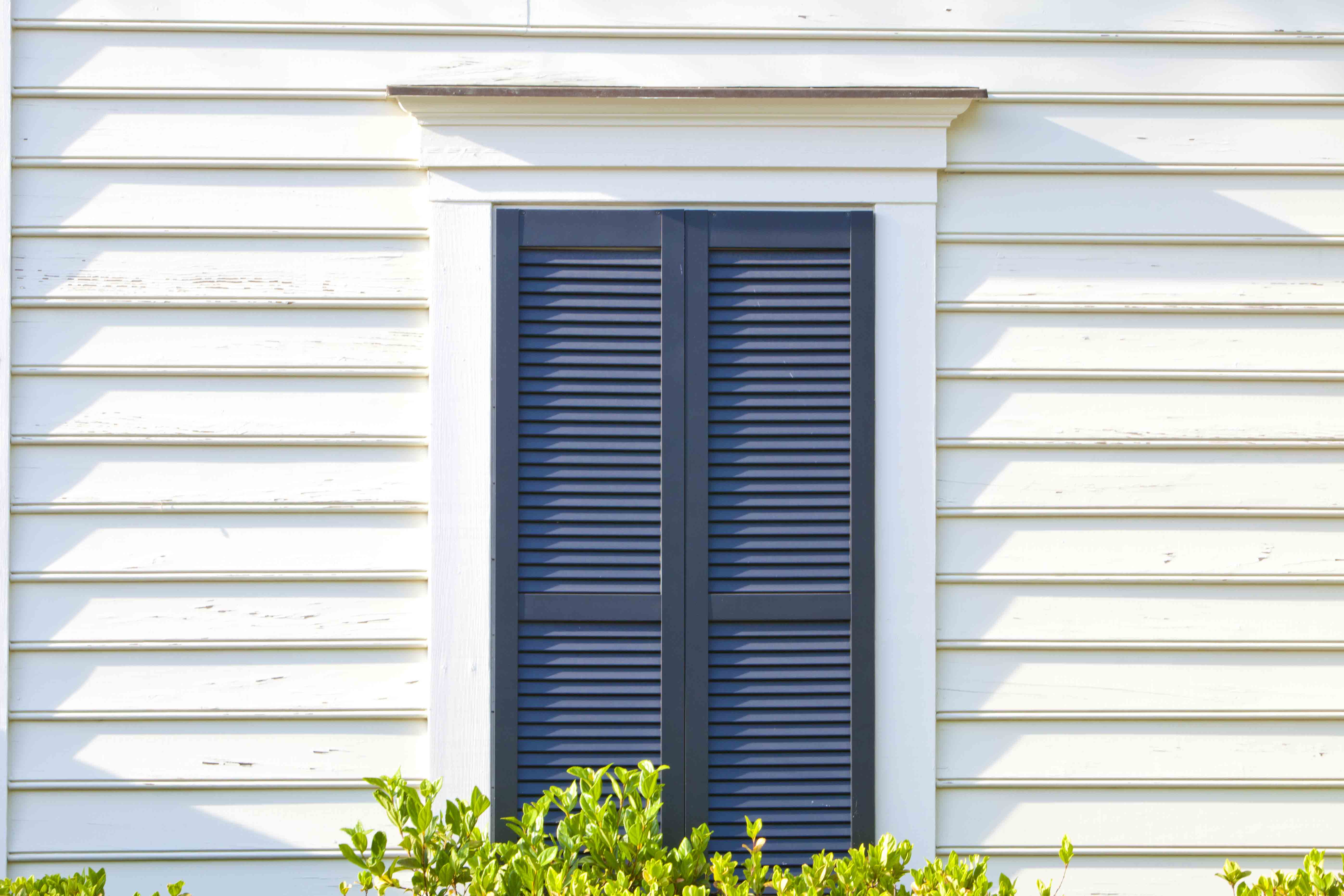 Wood Shutters Closed : Closed louver shutter e zee set custom wood shutters